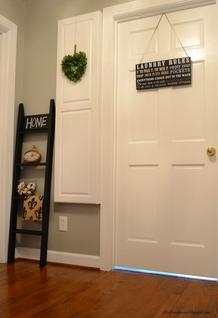 Welcome to my Laundry Room.I should say, welcome to the rest of my laundry room. First of all,...