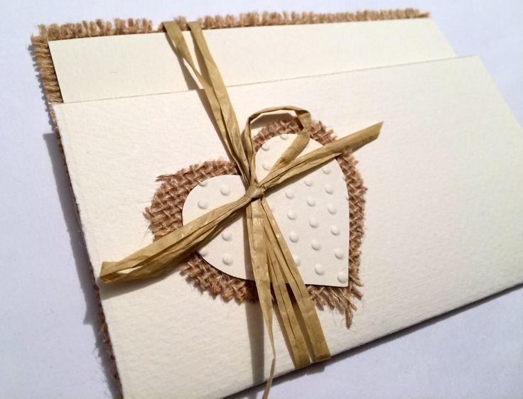 Inviti matrimonio rustico- parte 2