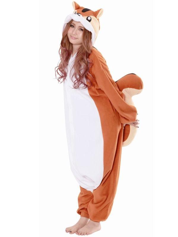 Chipmunk kostume | Billige kostumer | Dyrekostumer.dk