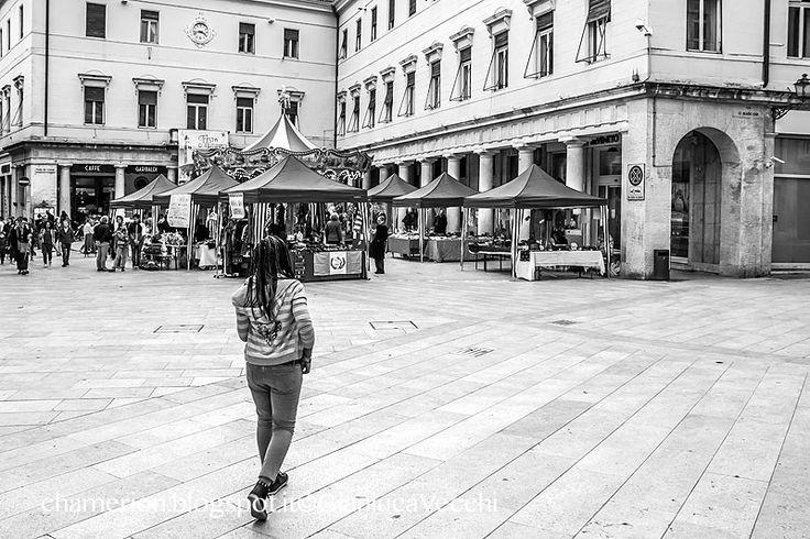 Camminando verso piazza del Municipio