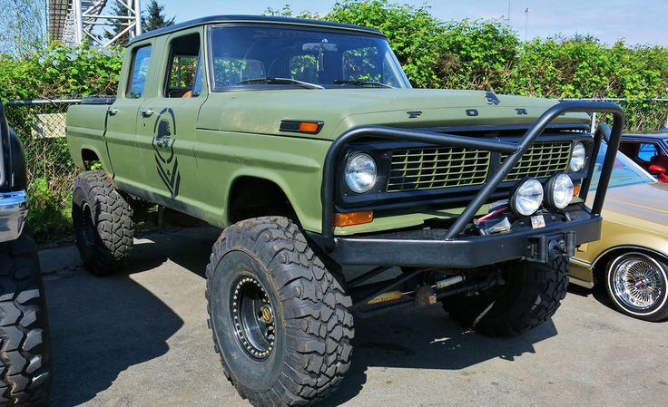 1970 Ford F 250 Crewcab 4x4 Pickup Truck Just Fords