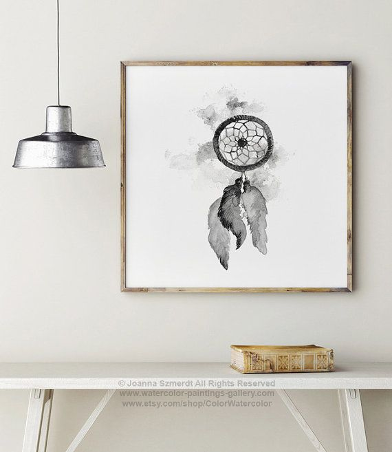 Custom listing for Bec. Square 32x32 cm Dream Catcher Art Print.  Type of paper: Prints up to (42x29,7cm) 11x16 inch size are printed on Archival Acid Free 270g/m2 White Watercolor Fine Art Paper and retains the look of original painting. Larger prints are printed on 200g/m2 White Semi-Glossy Poster Paper.  Colors: Archival high-quality 10-cartridge Canon Lucia Pigment Inks with a droplet size of 4.0pl and chroma optimizer for long lasting true color prints. Please note that the fra...