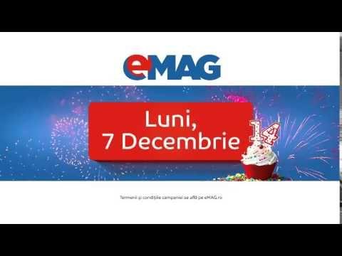 Reduceri de 10.000.000 lei de Ziua eMAG - YouTube