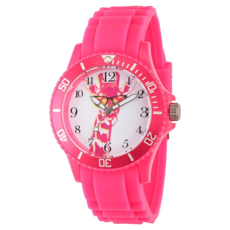 Women's Discovery Channel Animal Planet Pink Plastic Wristwatch - Pink