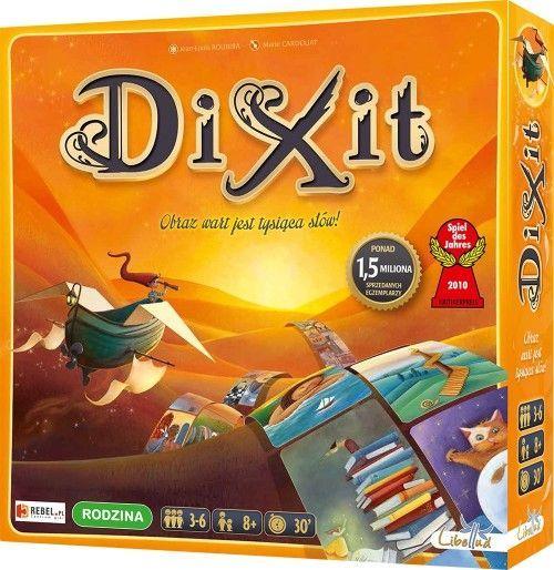 Rebel, gra towarzyska Dixit -   Rebel , tylko w empik.com: 91,99 zł. Przeczytaj recenzję Rebel, gra towarzyska Dixit. Zamów dostawę do dowolnego salonu i zapłać przy odbiorze!