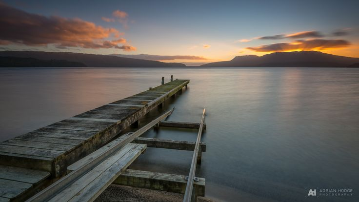 I find there's just something about a jetty pointing out over a great lake towards the approaching sunrise… I don't …