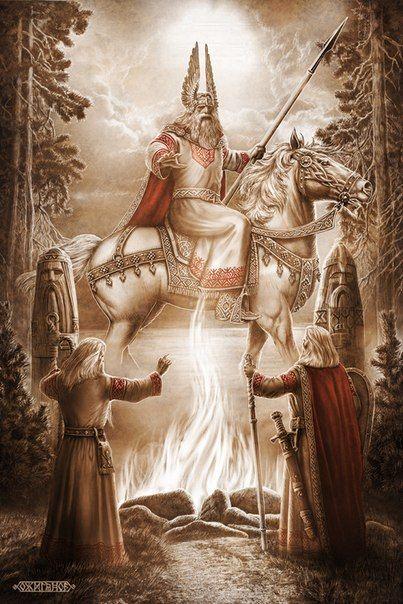 Slavic mythology by Igor Ozhiganov | Slavorum