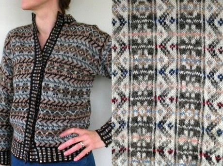 Donna Smith: My Family and Fair Isle knitting - Knitting Blog - Let's Knit Magazine