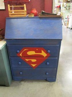 Superman Desk!
