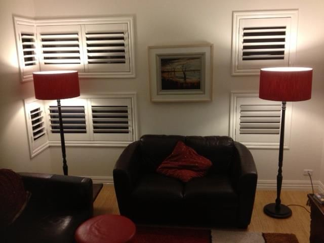 Basswood Plantation shutters we did in a house in West Footscray!