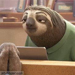 Sloth – Laugh | Gif Finder – Find and Share funny animated gifs