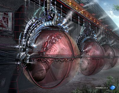 """Check out new work on my @Behance portfolio: """"Conveyor for organ cloning 2002"""" http://be.net/gallery/57721233/Conveyor-for-organ-cloning-2002"""