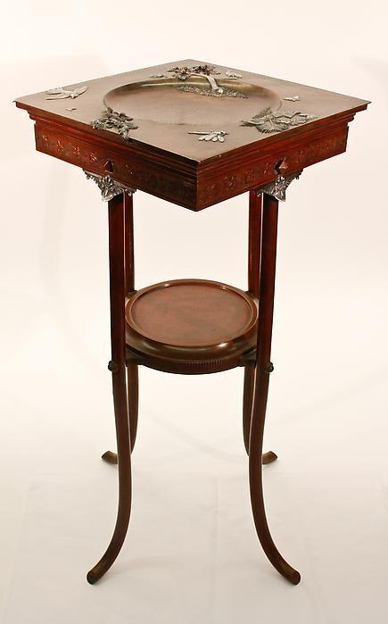 Gorham Co. Calling Card Table at Lillian Nassau
