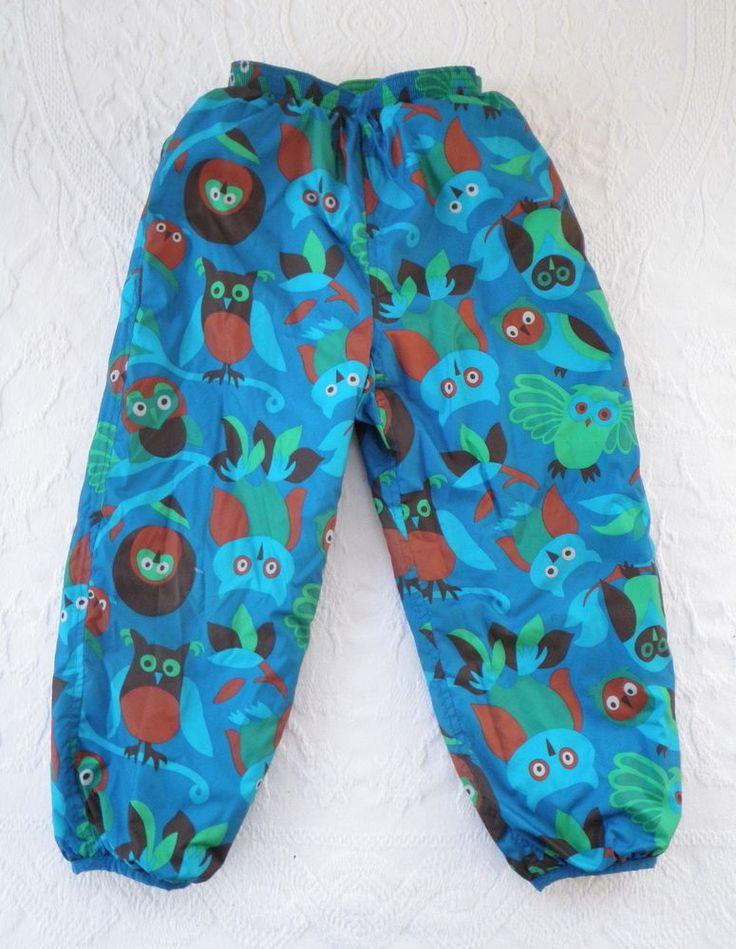 Patagonia Boys Kids Baby 5t Puffball Pants Reversible Snow