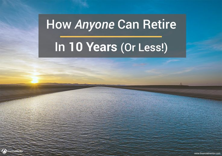 Anyone can choose to retire in 10 years (or less), but very few will succeed. It's not a matter of having specialized investing knowledge, it's a matter of savings.