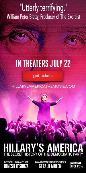 Hillary's America: The Secret History Of The Democratic Party - In his shocking new film, Dinesh D'Souza will expose the secret history of the Democrats and the true motivations of Hillary before the election this year. In theaters July 22!