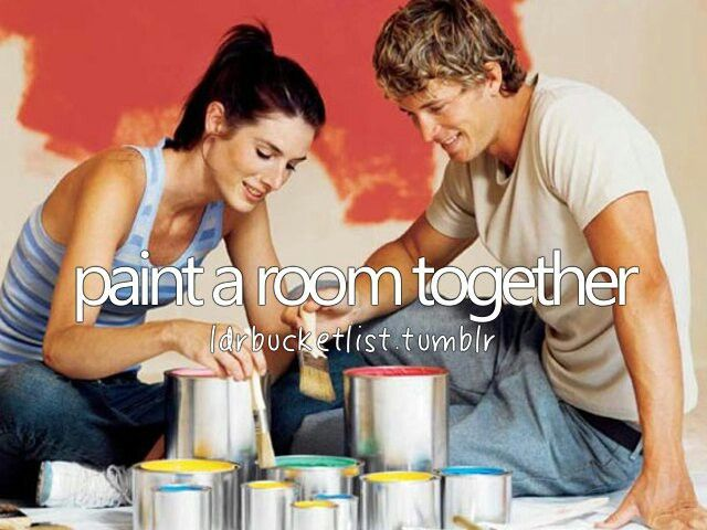 Paint a room together