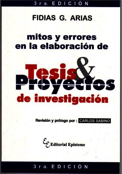 Libro: Mitos y errores en la elaboración de Tesis y Proyectos de Investigación - RedDOLAC - Red de Docentes de América Latina y del Caribe -