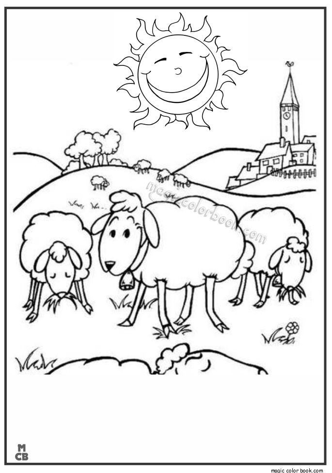 Shaun Sheep Free Printable Coloring Pages 06 Di 2019 Warna