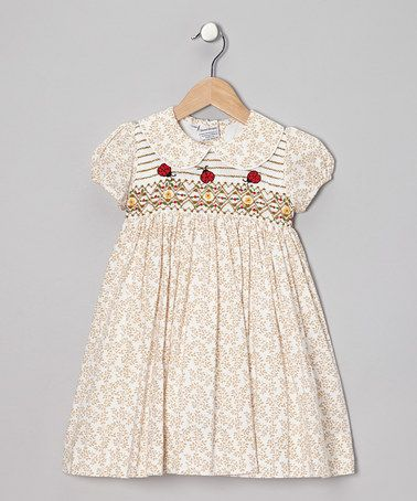 Take a look at this Brown Ladybug Dress - Infant, Toddler & Girls by Sweet Dreams on #zulily today!