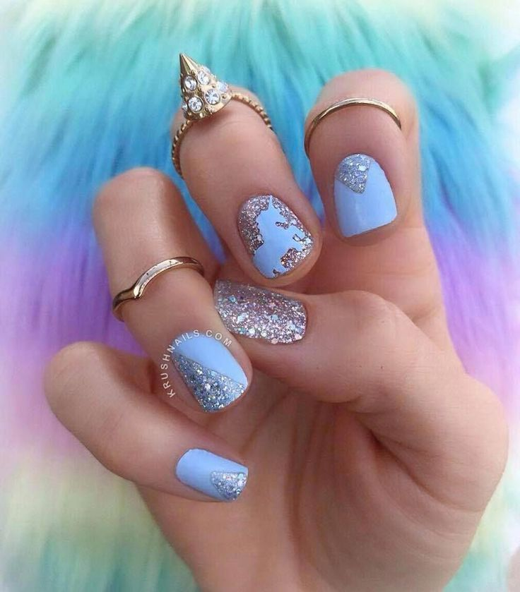Finder is committed to editorial independence. Unicorn Nail Art with Color Street Aspen Sky and Shangri-la #unicornnail #unicornnails | Color ...