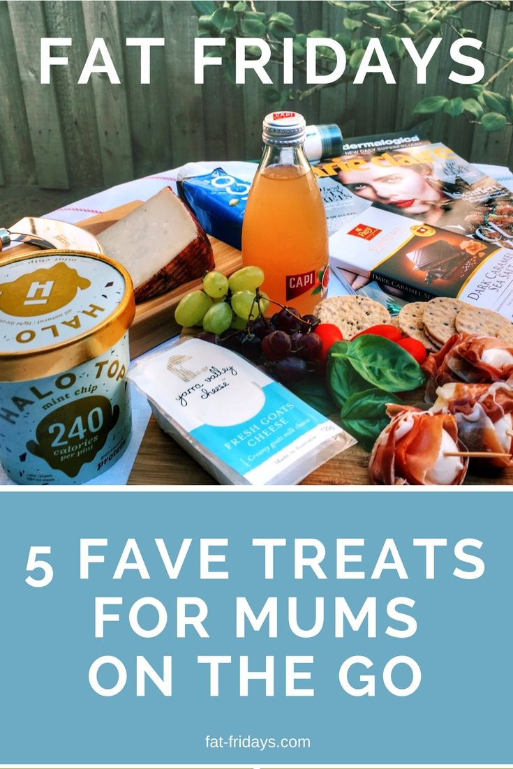 Need a Fat Friday treat to get through the day? Be kind to yourself and reward your long hard week with one or all of these yummy mummy treats. #fatfridays #mummytreats #favouritefood