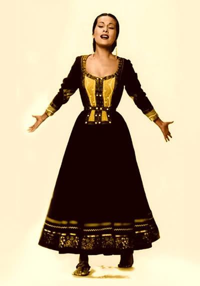 Yma Sumac, la diosa quechua.