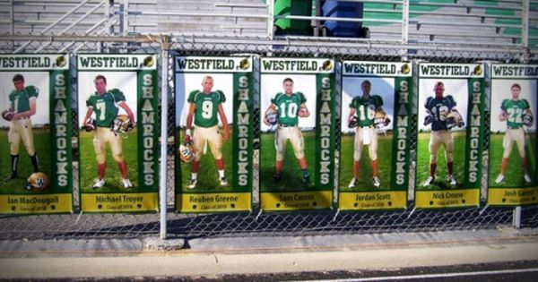 Image result for football senior banners