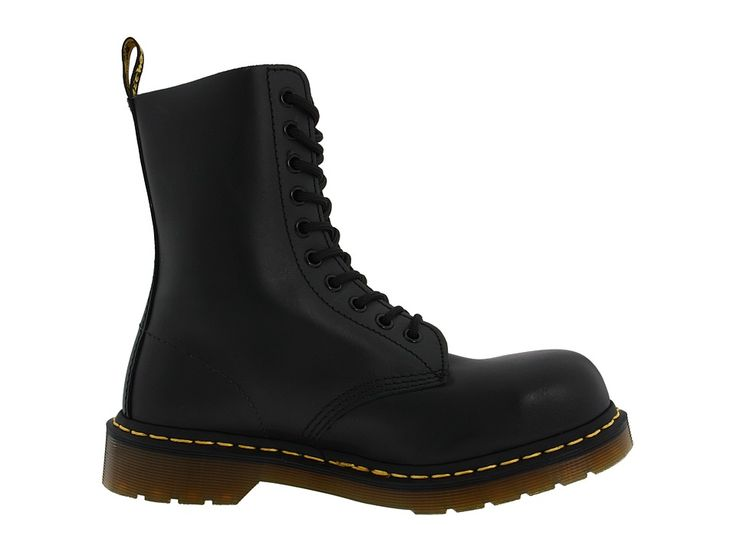Dr. Martens 1919 Boots Black Fine Haircell