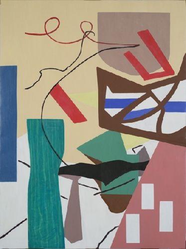 Shirley Jaffe - Swinging - 2012