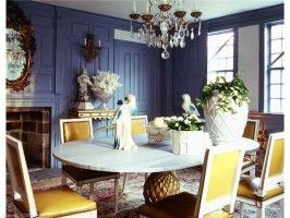 Great paneling and use of color