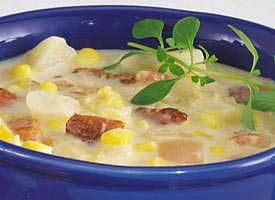 Slow Cooker Potato and Double-Corn Chowder