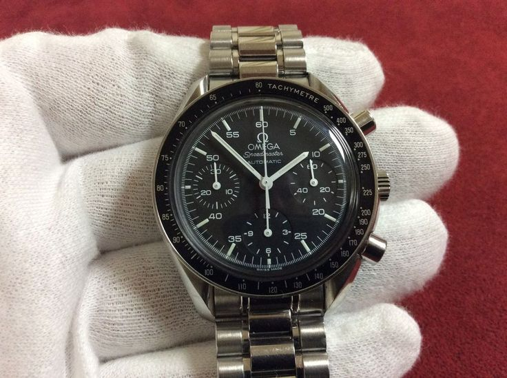 OMEGA SPEEDMASTER AUTOMATIC 3510.50 REDUCED WATCH GREAT CONDITION FREE SHIPPING #Omega #LuxurySportStyles