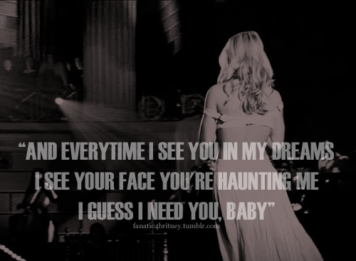 Enough said... I can run from you all day, but in my dreams you haunt me
