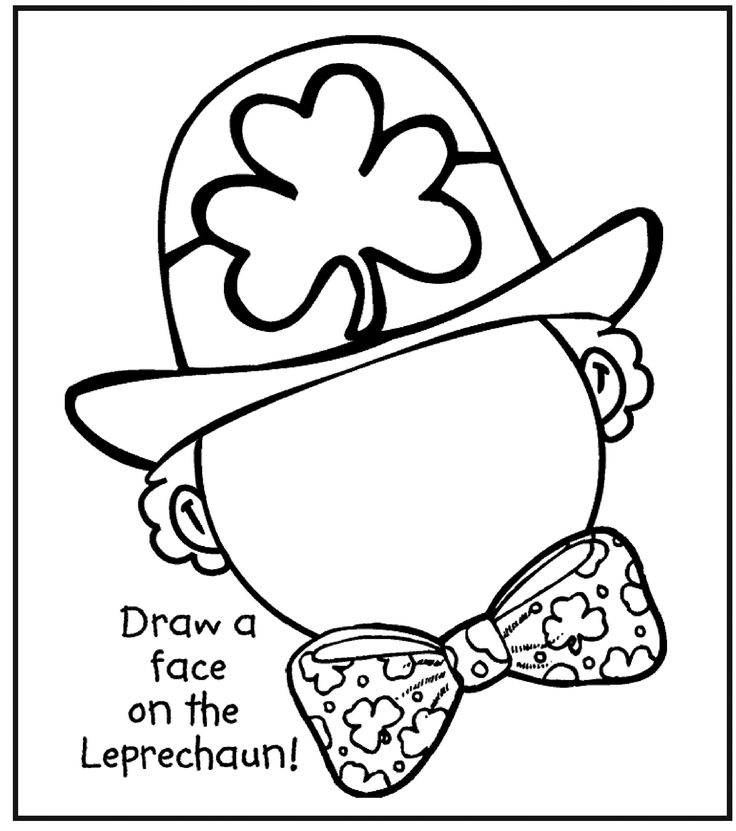 St Patrick 39 s Day Coloring Pages Free Erin Go Brach