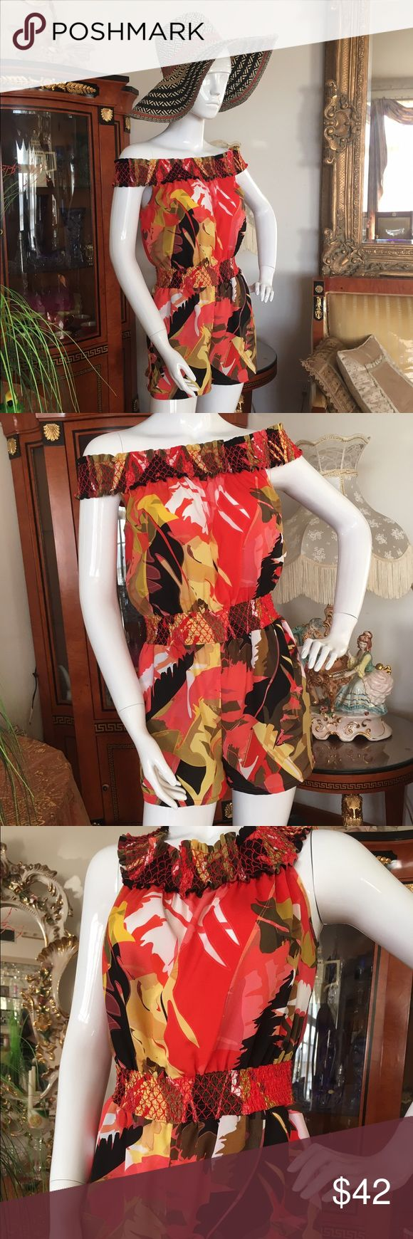 Bebe gorgeous lady's romper bebe's multicolored romper, for women, in great condition bebe Other