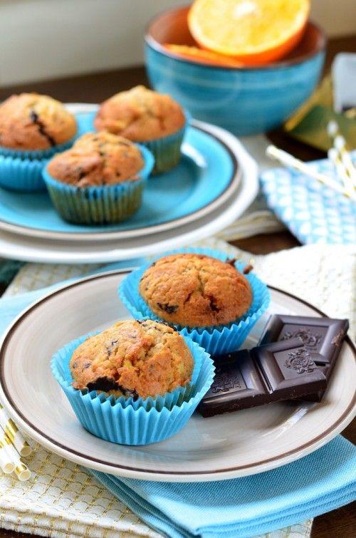 Csokoládés-narancsos-gyömbéres muffin recept
