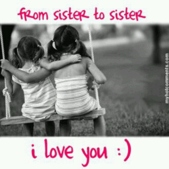 From sister to sister