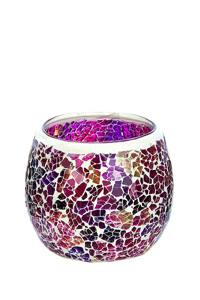 Our new Purple, Pink and Yellow mosaic in medium. To see our entire range of mosaics, please click here: http://bit.ly/1zHtguh