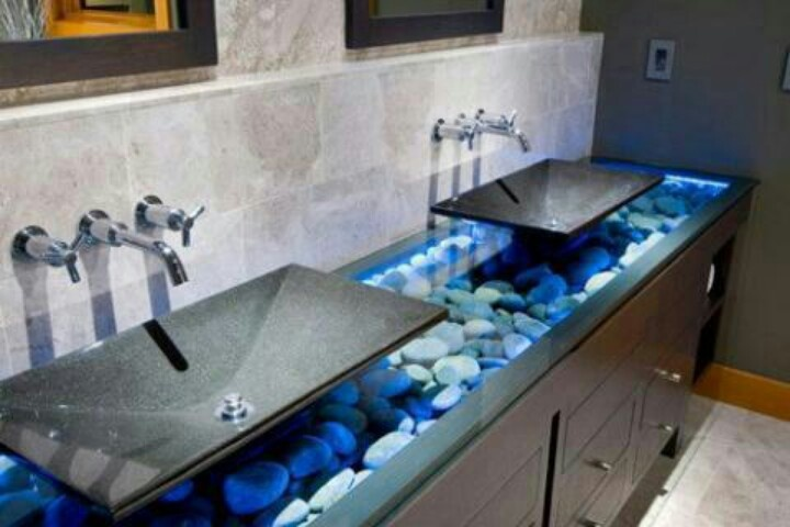 Stones In Bathroom Sink : Sinks in stone Bathroom Ideas Pinterest