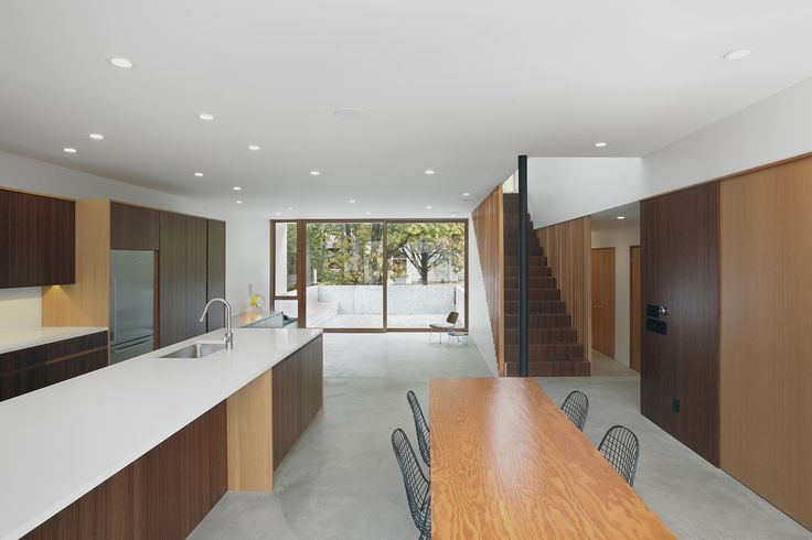 SHED Architecture & Design - Modern Architects Seattle - Capitol Hill House  /  SHED Architecture & Design  /  Modern Interior  /  Kitchen view facing east.