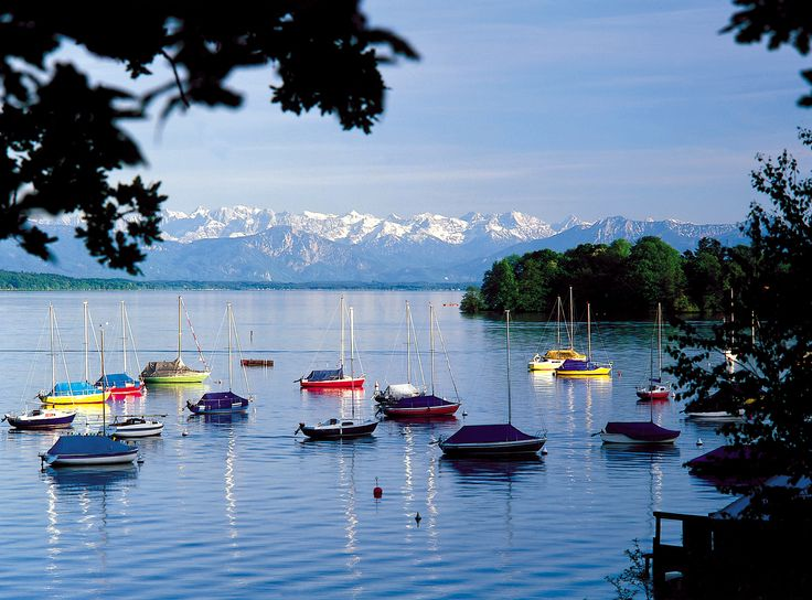 Lake Starnberg, Bavaria My favorite spot to go and enjoy the water and the trees.