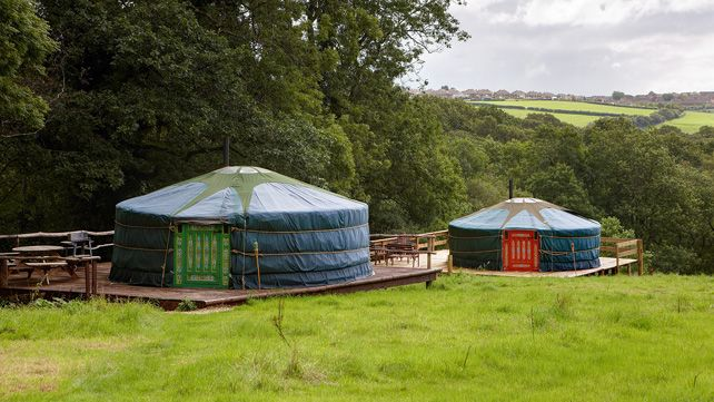 Yurt holidays in Wales