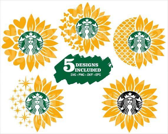 Starbucks Sunflower Svg Sunflower Svg Starbucks Svg Sunflower Butterfly Svg Starbucks Mermid Svg St Butterflies Svg Starbucks Cups Svg