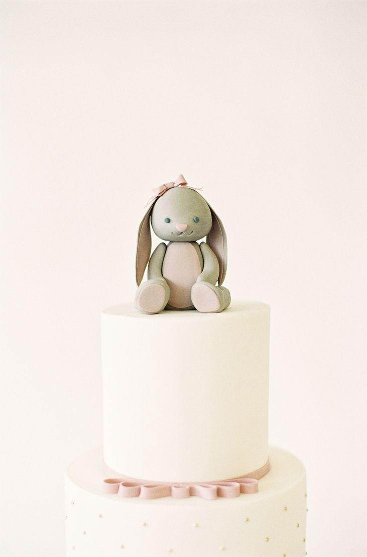 Sugar Bunny, Jen Huang Photo, Nine Cakes, First Birthday