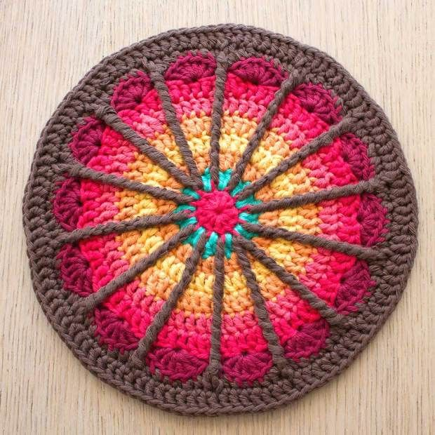 These look like stained glass to me!  So gorgeous!  Now if I only knew how to crochet!  mandala