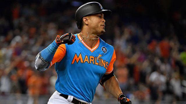 MLB: Giancarlo Stanton es el Jugador de la Semana en la Liga Nacional