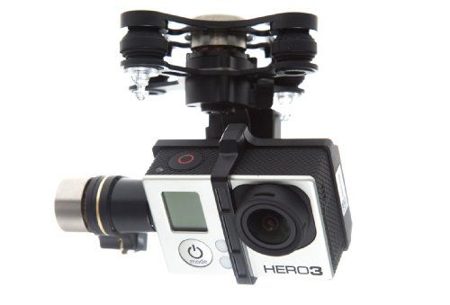Gopro Gimbal for quadcopter/multirotor
