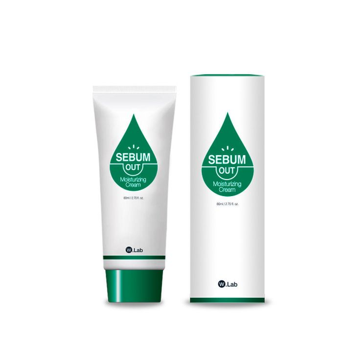W.Lab Sebum Out Facial Pore Care Moisturizing Cream + Free gift Korean Beauty #WLab