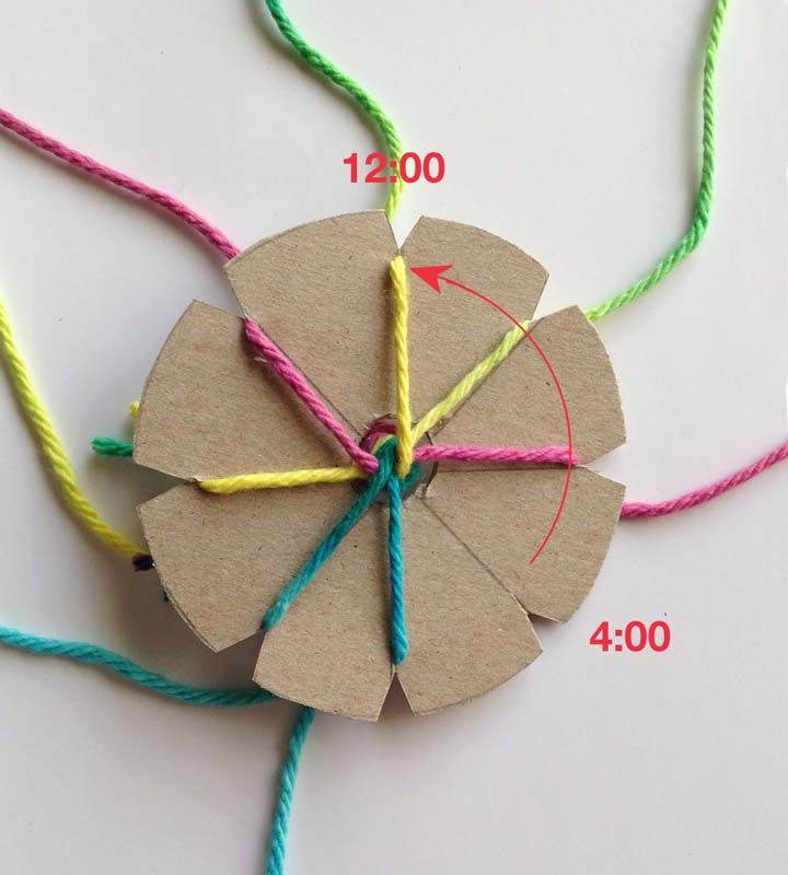 Art Projects for Kids   Teacher-tested Art Projects: How to make a round Braid